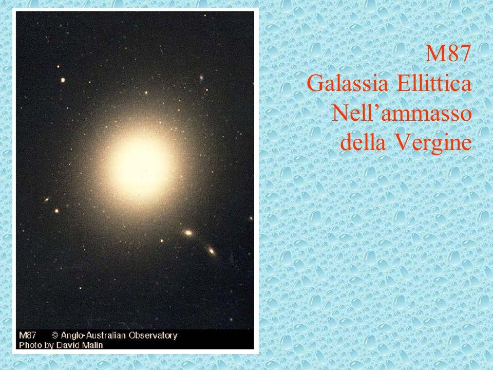 M87 Galassia Ellittica Nell'ammasso della Vergine