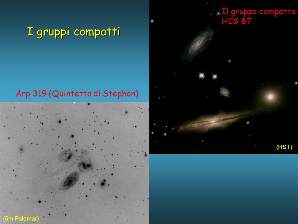 I gruppi compatti Il gruppo compatto HCG 87