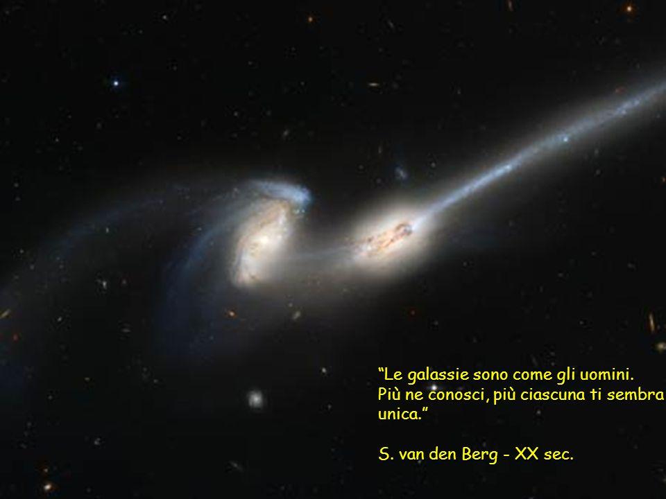 Le galassie sono come gli uomini.