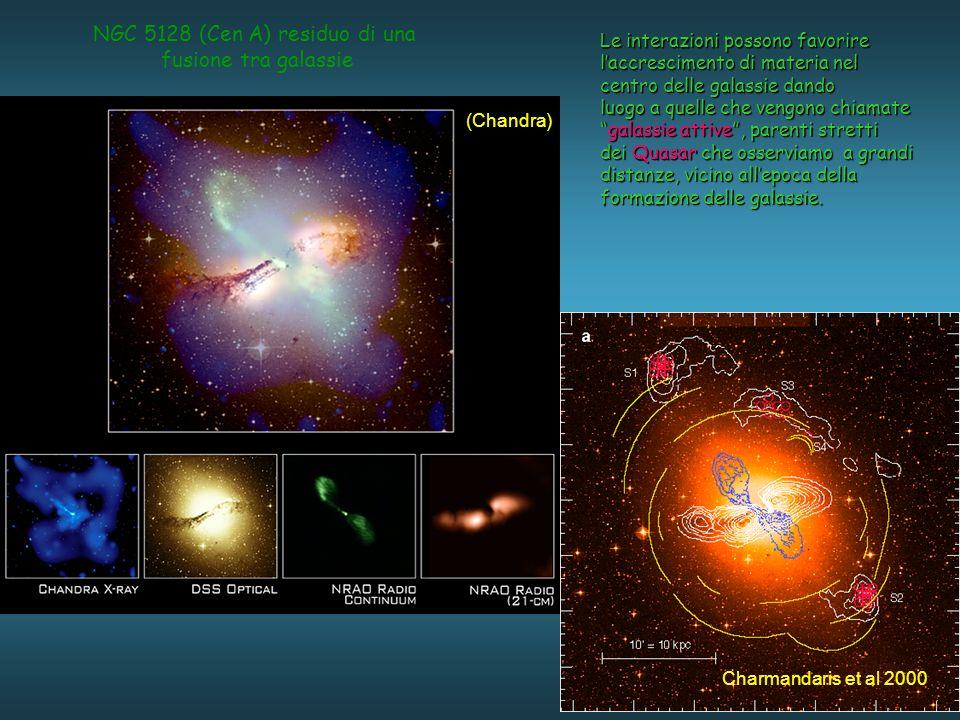 NGC 5128 (Cen A) residuo di una