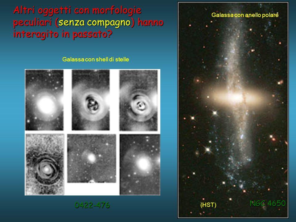 Altri oggetti con morfologie peculiari (senza compagno) hanno interagito in passato