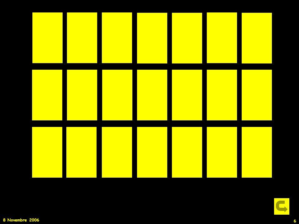 In questa slide si può vedere l'effetto dell'accensione consecutiva di un numero sempre maggiore di lampadine ( in particolare se vi mettere in una stanza buia)