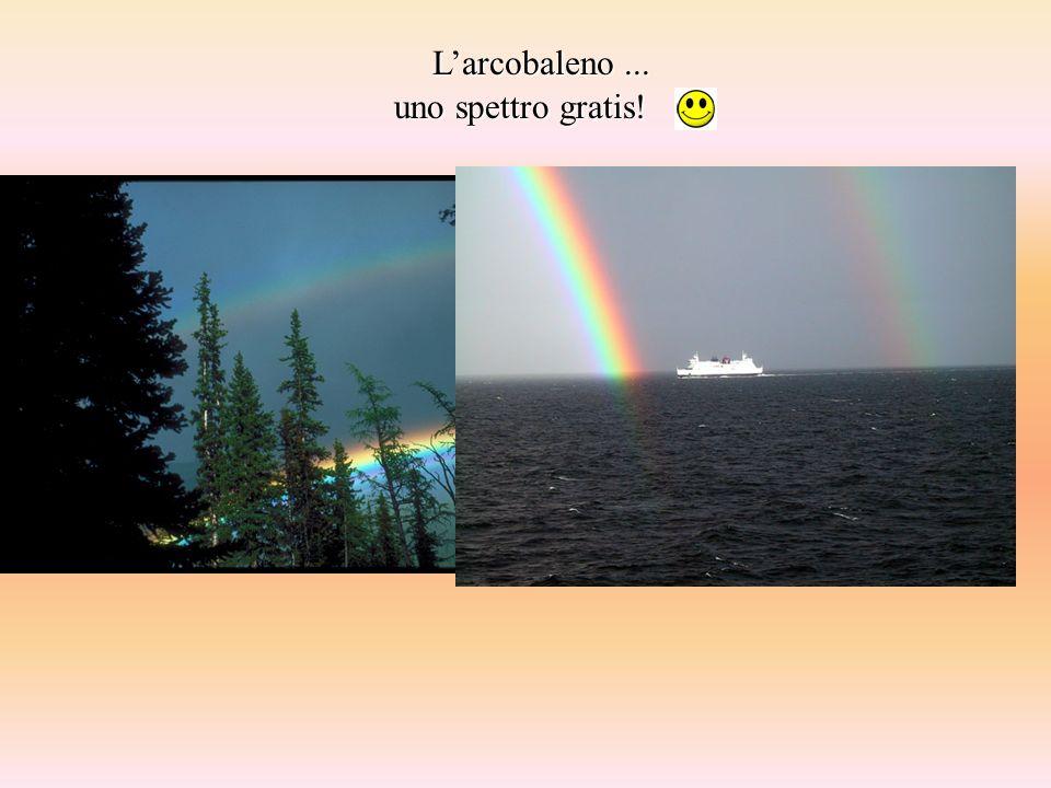 L'arcobaleno ... uno spettro gratis!