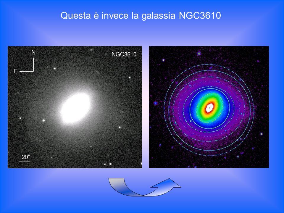 Questa è invece la galassia NGC3610