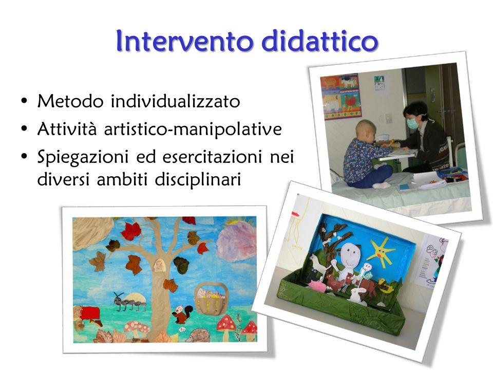 Intervento didattico Metodo individualizzato