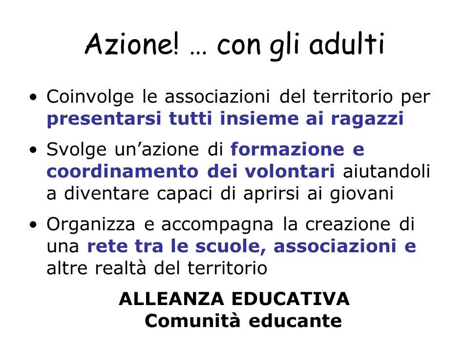 ALLEANZA EDUCATIVA Comunità educante