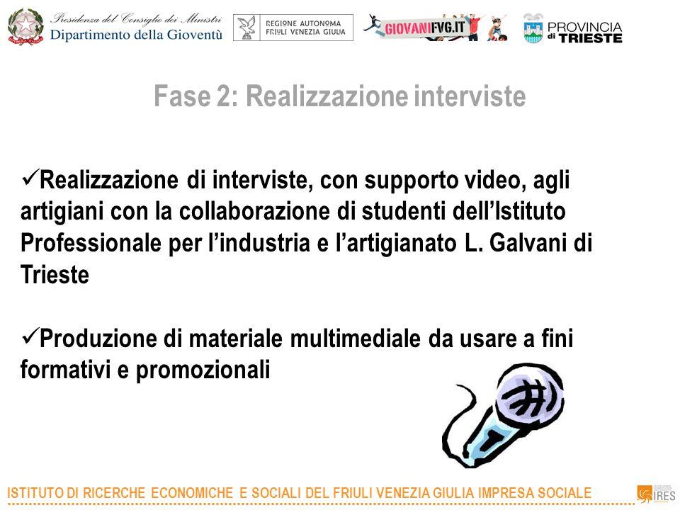 Fase 2: Realizzazione interviste