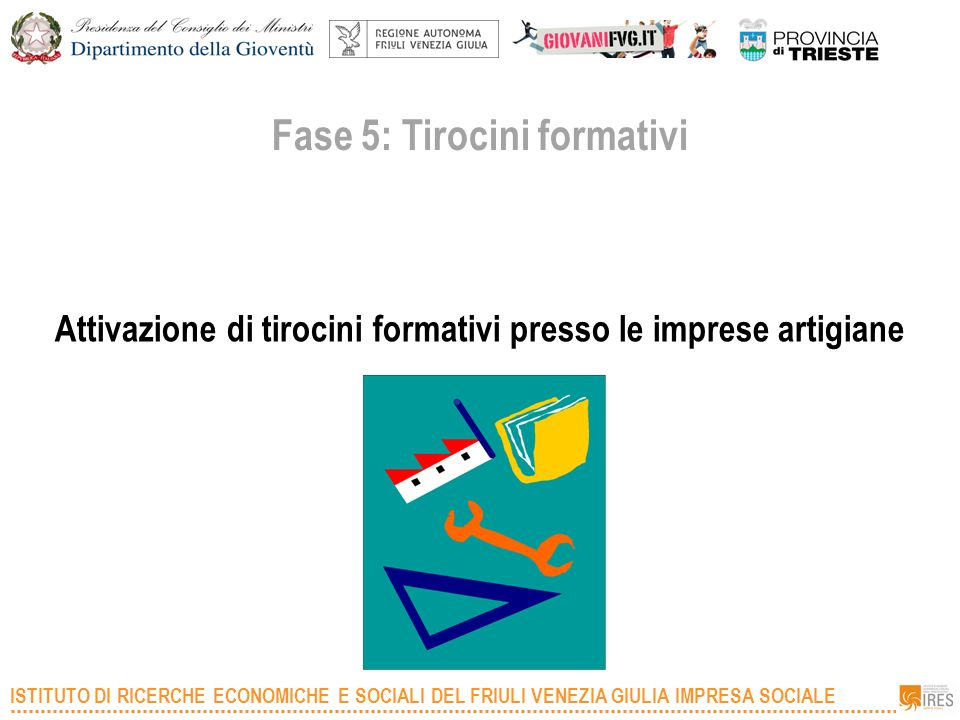 Fase 5: Tirocini formativi