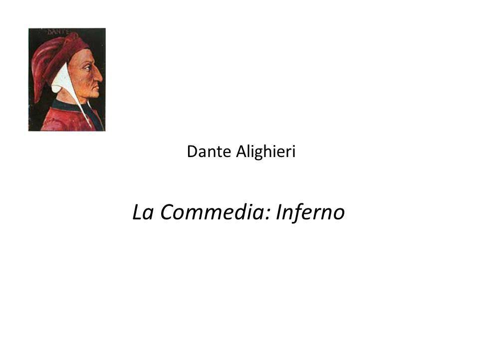 Dante Alighieri La Commedia: Inferno