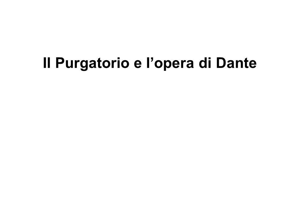 Il Purgatorio e l'opera di Dante