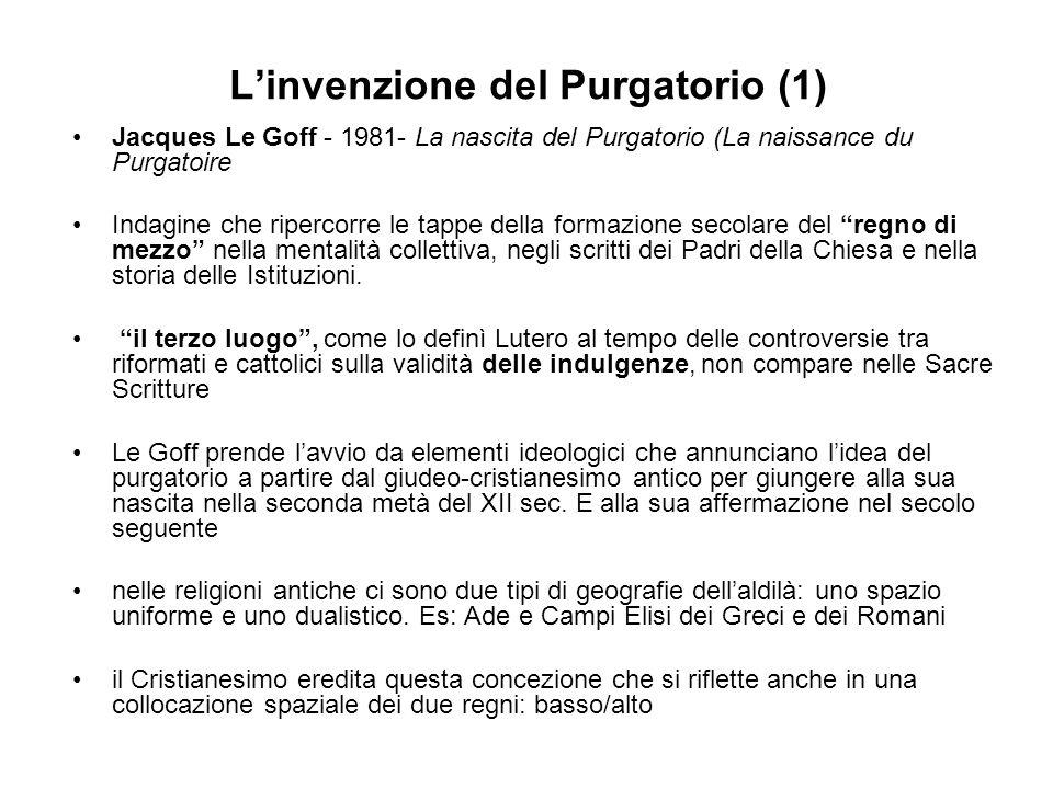 L'invenzione del Purgatorio (1)