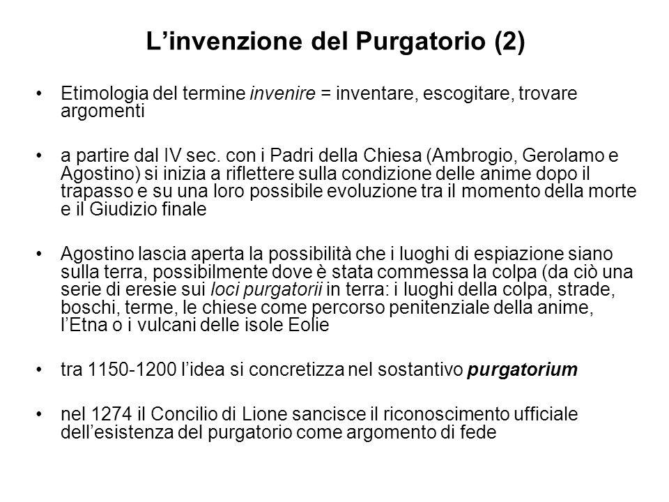 L'invenzione del Purgatorio (2)