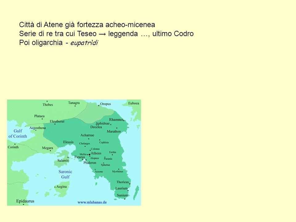 Città di Atene già fortezza acheo-micenea