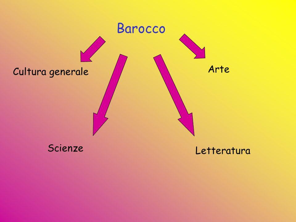Barocco Cultura generale Arte Scienze Letteratura