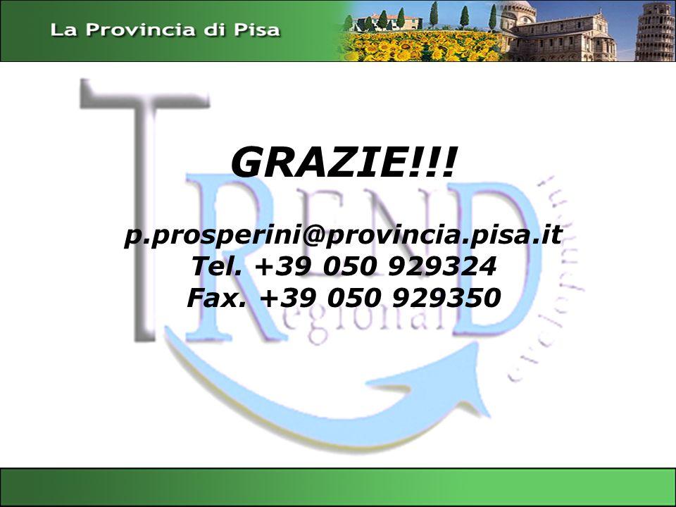 p.prosperini@provincia.pisa.it Tel. +39 050 929324 Fax. +39 050 929350