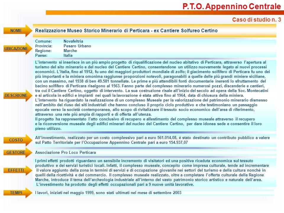 P.T.O. Appennino Centrale