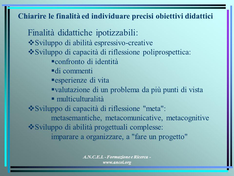 A.N.C.E.I. - Formazione e Ricerca - www.ancei.org