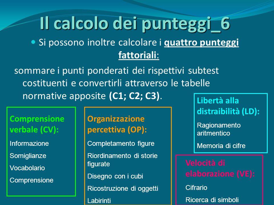 Il calcolo dei punteggi_6