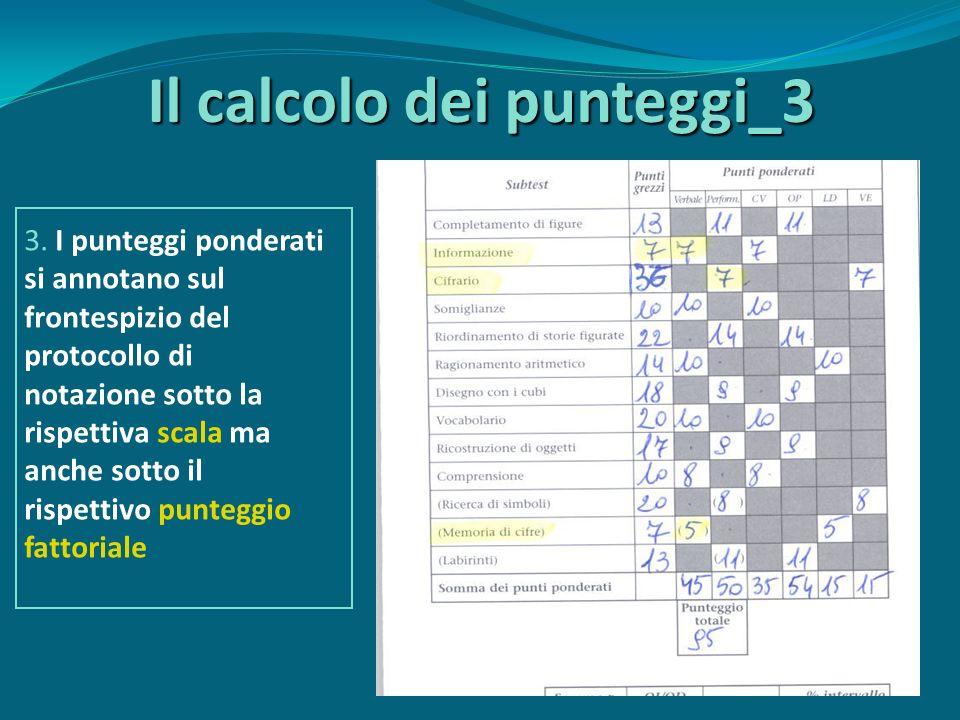 Il calcolo dei punteggi_3