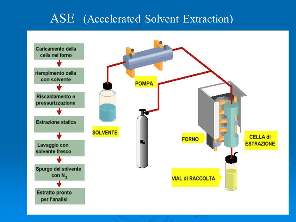 ASE (Accelerated Solvent Extraction)
