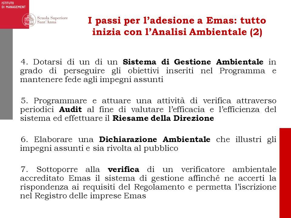 I passi per l'adesione a Emas: tutto inizia con l'Analisi Ambientale (2)