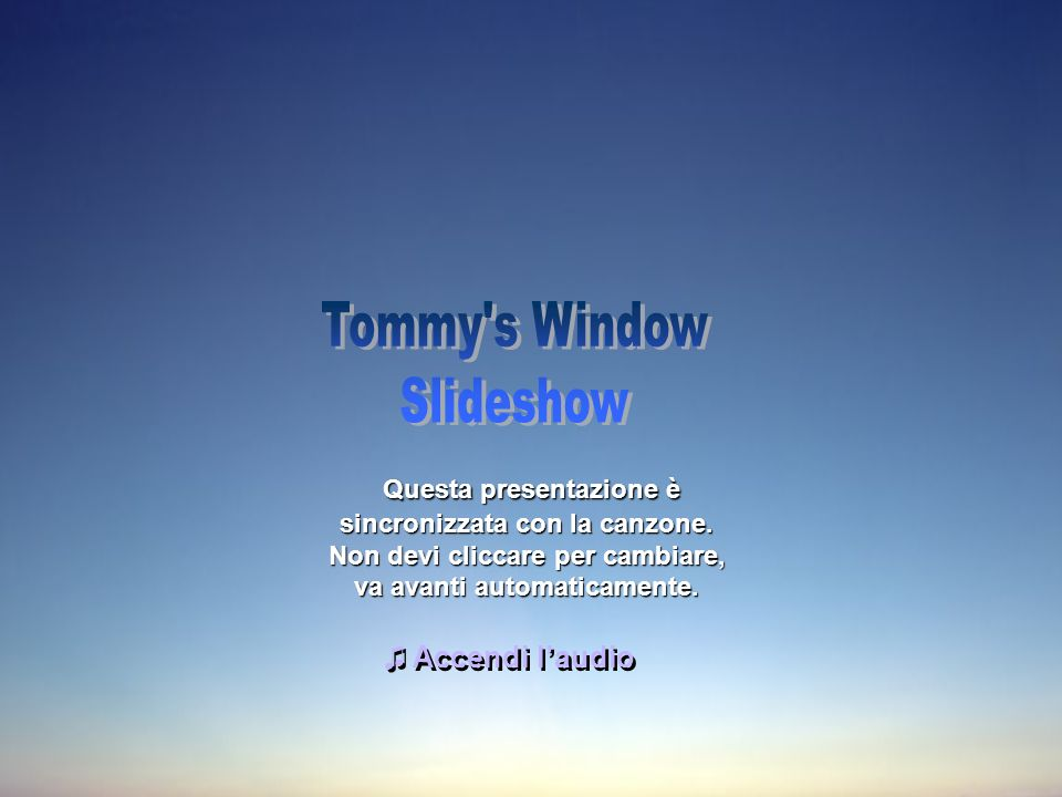 Tommy s Window Slideshow