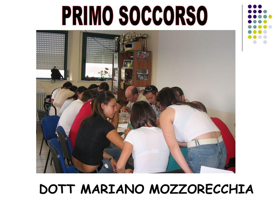 PRIMO SOCCORSO DOTT MARIANO MOZZORECCHIA