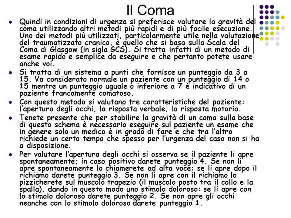 Il Coma