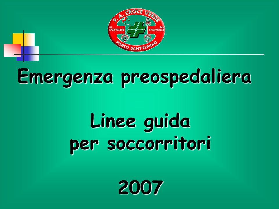 Emergenza preospedaliera