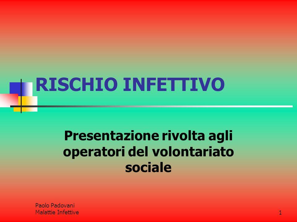 Presentazione rivolta agli operatori del volontariato sociale