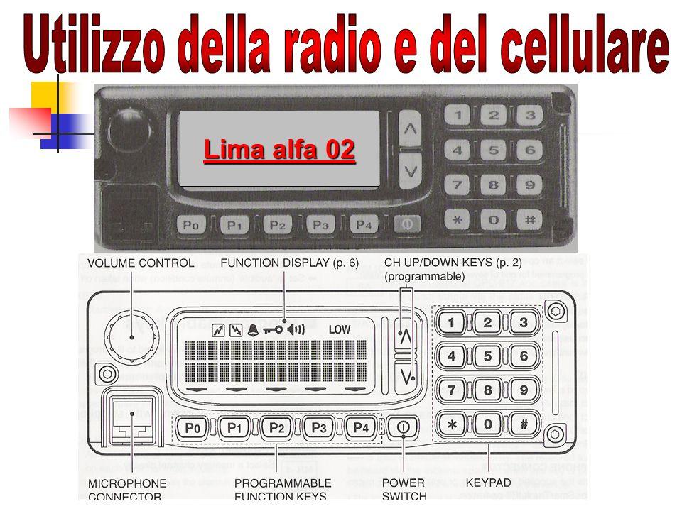 Utilizzo della radio e del cellulare