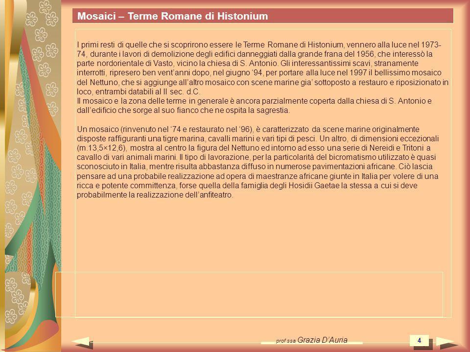 Mosaici – Terme Romane di Histonium
