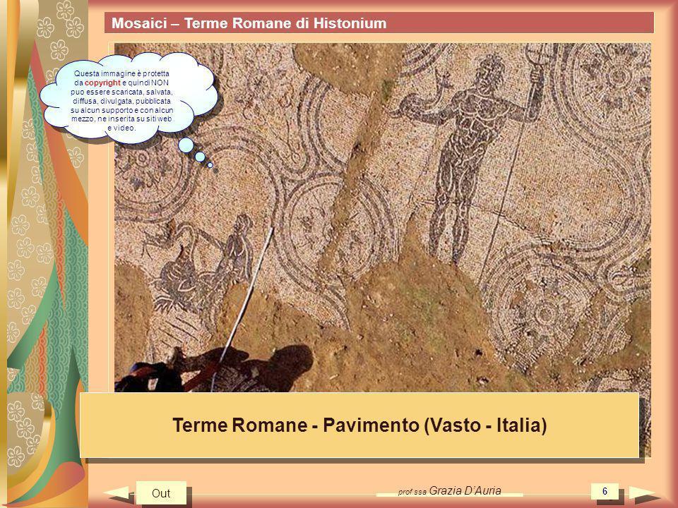 Terme Romane - Pavimento (Vasto - Italia)