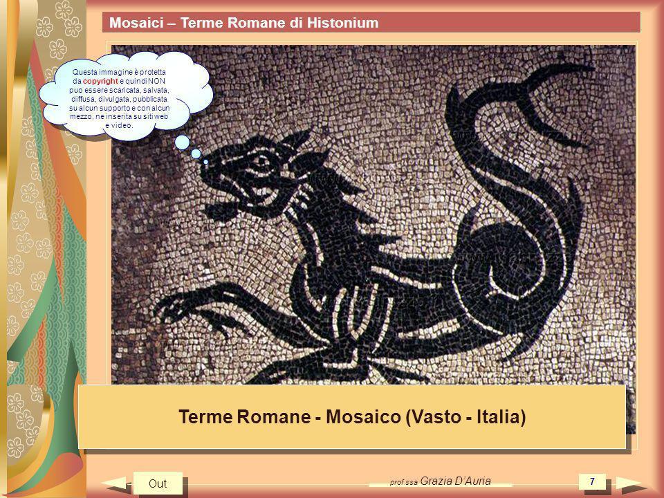 Terme Romane - Mosaico (Vasto - Italia)