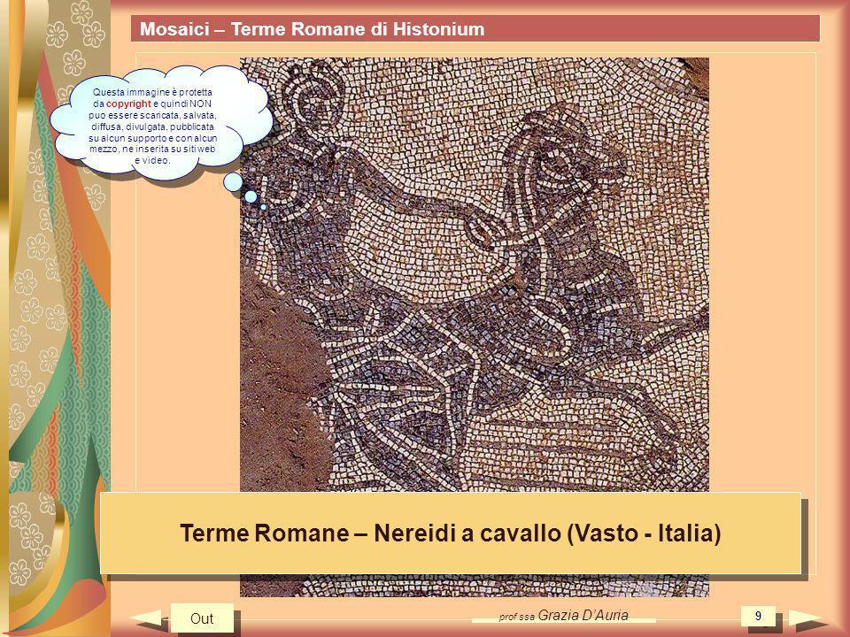 Terme Romane – Nereidi a cavallo (Vasto - Italia)