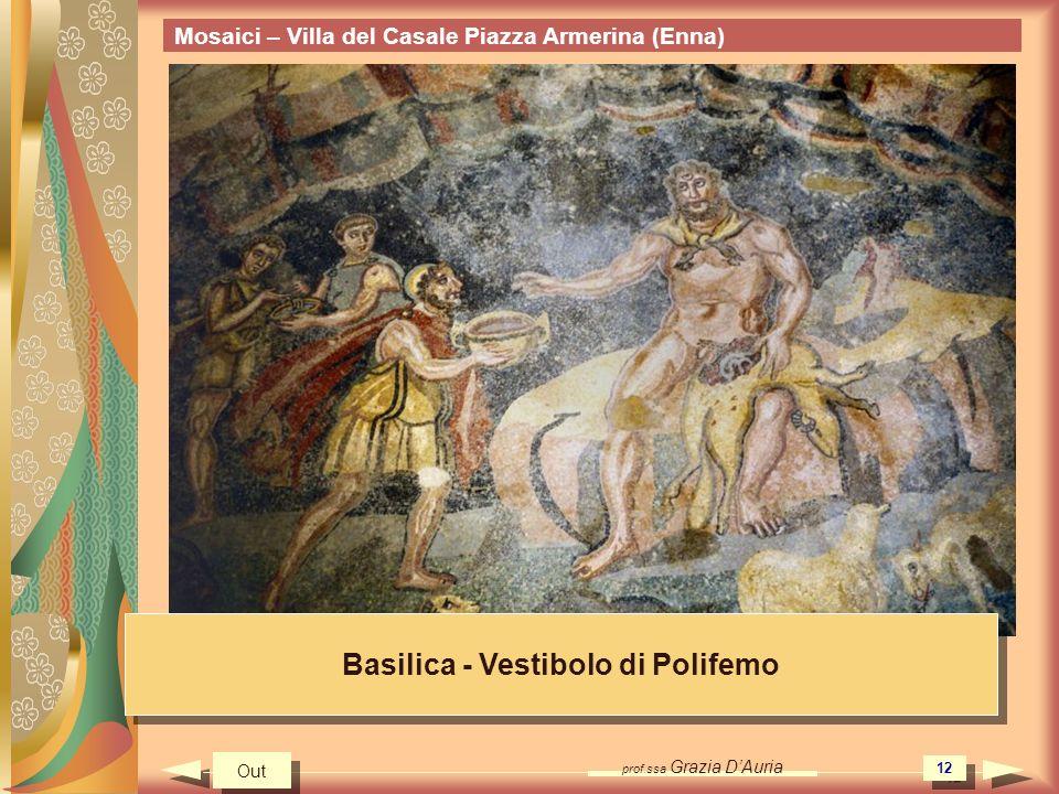 Basilica - Vestibolo di Polifemo