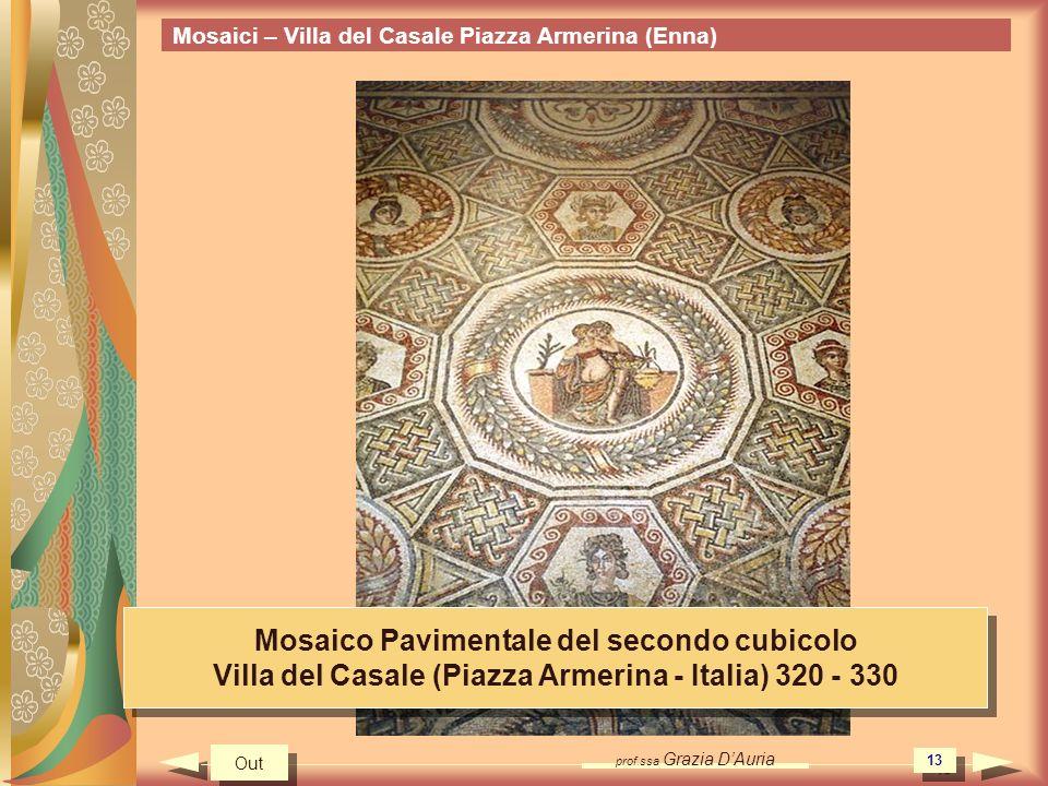 Mosaico Pavimentale del secondo cubicolo