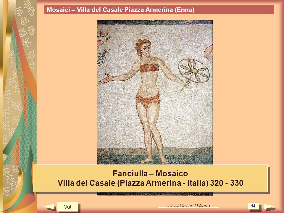Villa del Casale (Piazza Armerina - Italia) 320 - 330