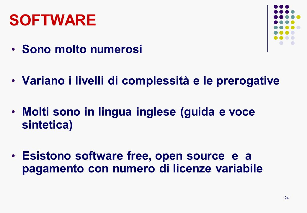 Scelta del software: which is the best for you