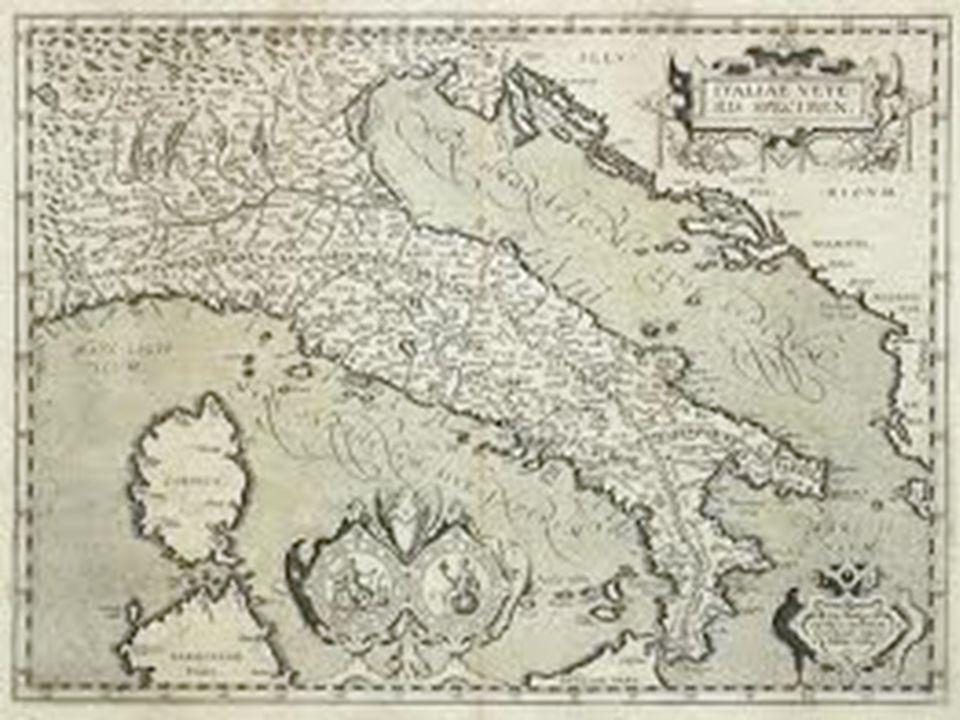 Una carta geografica è una rappresentazione di un territorio