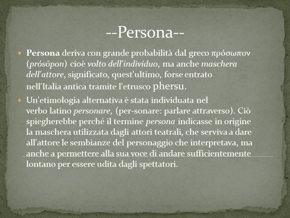 --Persona--