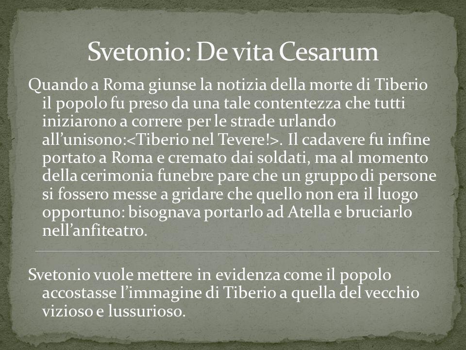 Svetonio: De vita Cesarum