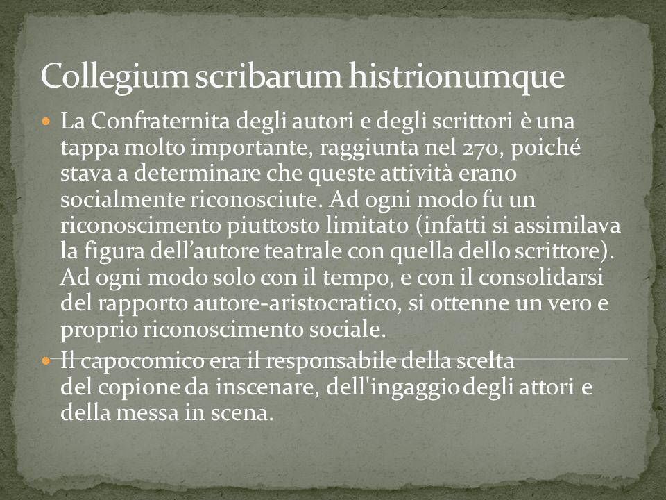 Collegium scribarum histrionumque