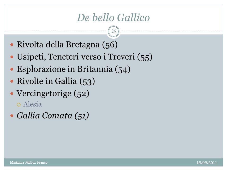 De bello Gallico Rivolta della Bretagna (56)