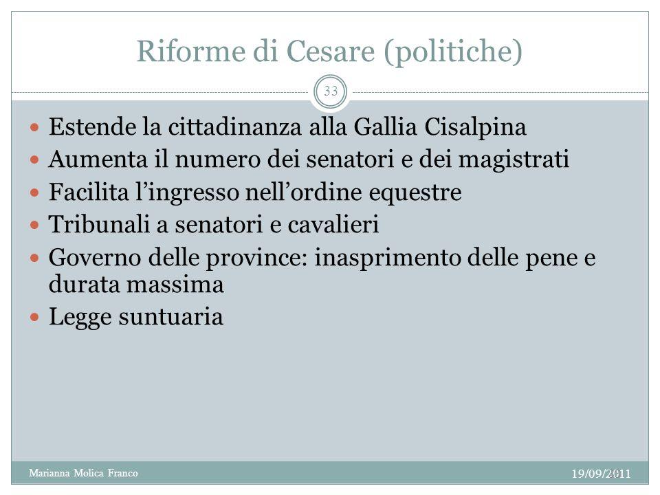 Riforme di Cesare (politiche)