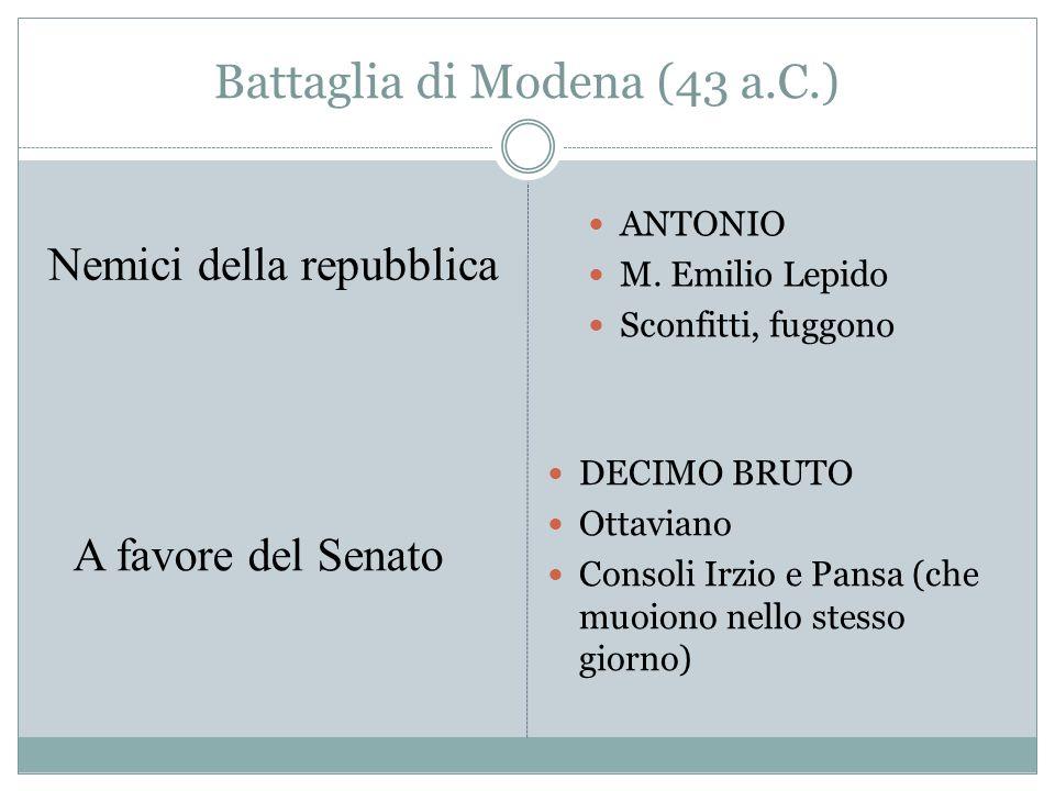 Battaglia di Modena (43 a.C.)