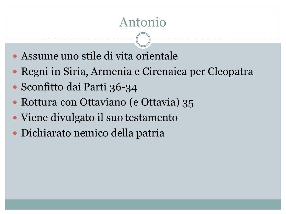 Antonio Assume uno stile di vita orientale