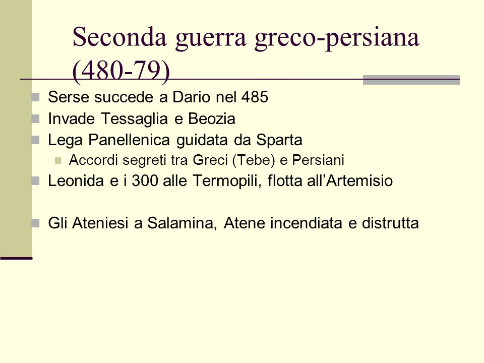 Seconda guerra greco-persiana (480-79)