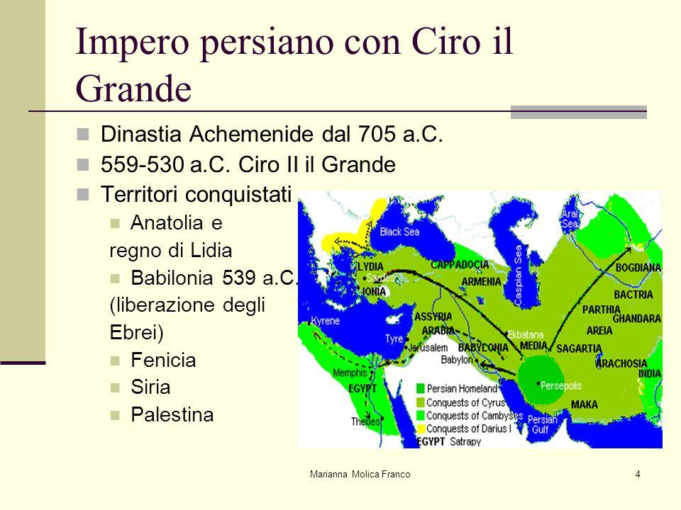 Impero persiano con Ciro il Grande