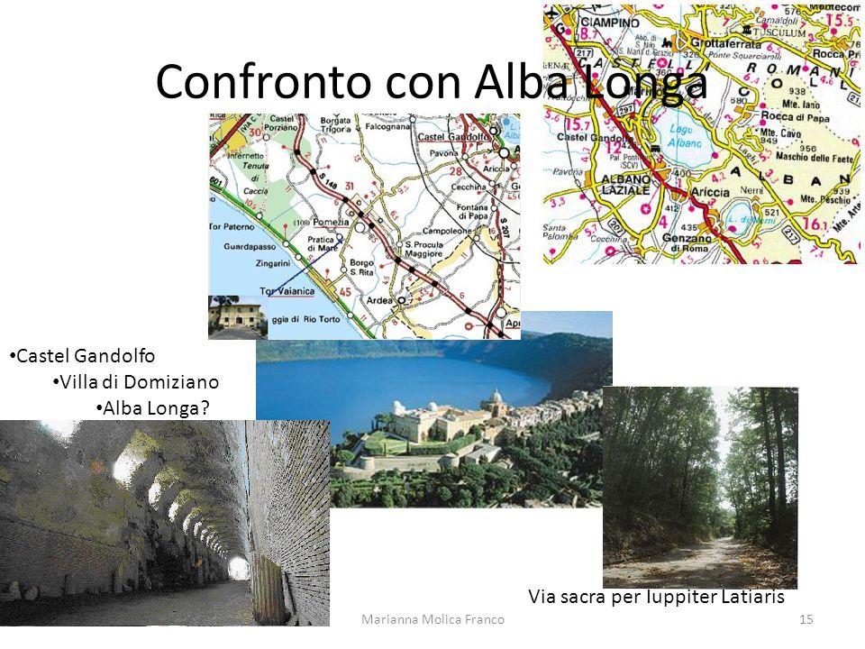 Confronto con Alba Longa